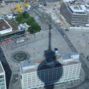 Shadow over Alexanderplatz