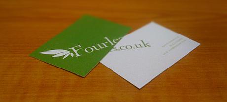 Fourleaves Business Cards